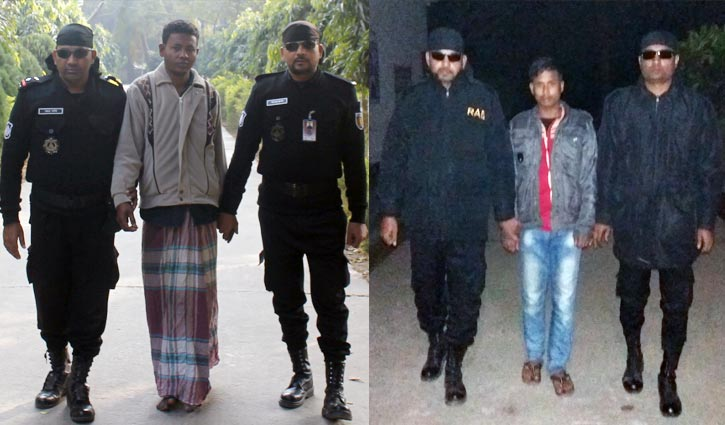 RAB arrests two rapists in Dinajpur