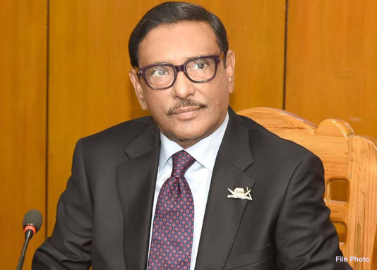 Obaidul Quader urges party men to stay on field to stop rumour